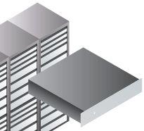 armadi rack professionali per data center - 2U, 3U, 4U, 42U