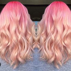 Pretty in Pink @victoriakellyhairstyling by imallaboutdahair