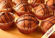 Mufinki czekoladowe. Kliknij, aby poznać przepis. babka babki babeczki