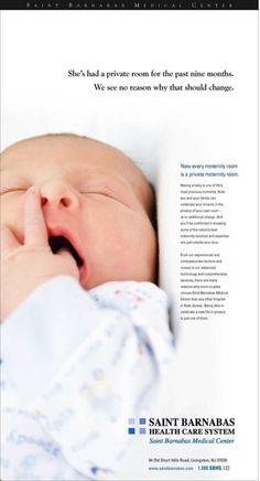 Print Ad (Maternity Rooms)