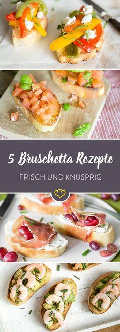 Una Bruschetta per favore, buono, molto buono, buonissimo! Ok. mehr brauchst du nicht! Ab zur Praxis und buon appetito!!!
