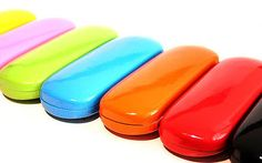 Brillenetui-Brillenbox-Hartschale-Kunstleder-einfaerbig