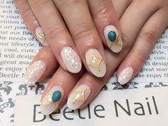 Nail Art - Beetle Nail : 八幡|ターコイズストーン  #ネイル #ビートル近江八幡 #ビートルネイル #ネイル近江八幡