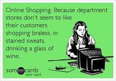 Hooray for online shopping!