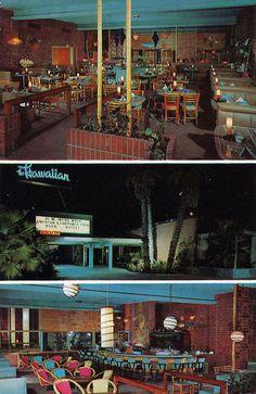 The Hawaiian Restaurant Long Beach CA Hawaiian Restaurant, Hawaiian Tiki, Vintage Restaurant, Vintage Hawaiian, Vintage Tiki, Vintage Soul, Tiki Lounge, Tiki Tiki, My Road Trip