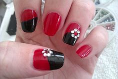 Nail Art Designs Step By Step Flowers Idea simple diy nail art designs easy red and black nail desig Nail Art Designs Step By Step Flowers. Here is Nail Art Designs Step By Step Flowers Idea for you. Nail Art Designs Step By Step Flowers 500 flower na. Nail Art Simple, Simple Nail Art Designs, Pretty Nail Art, Cute Nail Designs, Beautiful Nail Art, Cool Nail Art, Simple Diy, Easy Diy, Easy Designs