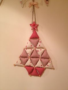 Christmas stuffed bunting tree