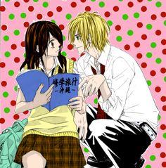 Tsubaki y Kyouta // Kyou koi wo hajimemasu-Hoy comienza nuestro amor
