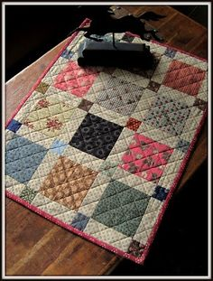 A Sentimental Quilter.