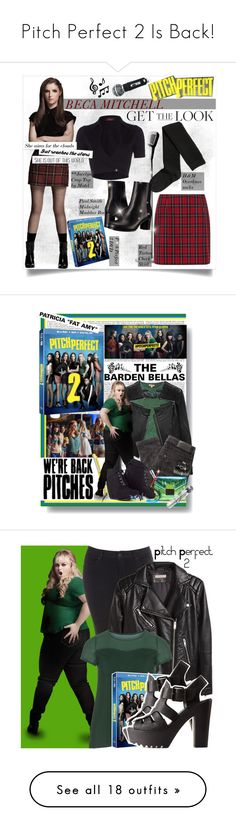 """""""Pitch Perfect 2 Is Back!"""" by polyvore-editorial ❤ liked on Polyvore featuring pitchperfect2, Motel, H&M, Paul Smith, Linea Pelle, P.A.R.O.S.H., Gestuz, Drybar, Loeffler Randall and MARA"""