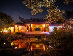 A traditional Chinese setting in the middle of Vancouver, Dr. Sun Yat-Sen Classical Chinese Garden is a place of refined splendour and inspiration. Chinese Garden, Pavilion, Jade, Wedding Venues, Traditional, Weddings, Mansions, House Styles, Places