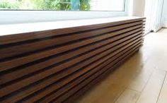 Radiator cover massive - Home Page Flur Design, Hall Design, Modern Radiator Cover, Home Radiators, Baseboard Heater Covers, Small Room Bedroom, Interior Design Living Room, Interior Architecture, New Homes