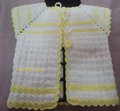 Tığ İşi Robadan Başlamalı Bebek Yeleği Modeli: http://www.marifetane.com/2014/10/tg-isi-robadan-baslamal-bebek-yelegi.html