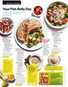 Flat Belly Full Day Menu