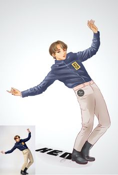 Vocals and main dancer of Pinoy, Super Junior, Boy Groups, Disney Characters, Fictional Characters, Dancer, Fanart, My Arts, Wallpapers