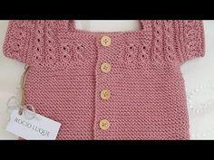 Knitting For Kids, Baby Knitting, Knit Baby Sweaters, Baby Cardigan, Free Pattern, Crochet, Fashion, Baby Sweaters, Crochet Bikini