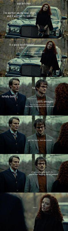 Hannibal Crack. Omg looooool!