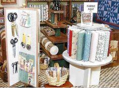 miniature sewing supplies…