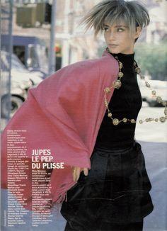 Roberta Chirko by Pamela Hanson ELLE  Septembre 1990