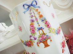 ★☆ 花かご・陶器フラワーベース ★☆ の画像|Eglantyne(エグランティーヌ) | アンティーク幸福論