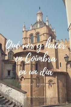 Que ver y hacer en Coimbra, la ciudad universitaria, Patrimonio de la Humanidad por la UNESCO de Portugal #Coimbra #UNESCO #Portugal Coimbra Portugal, Cities, Beyond Beauty, Holiday Travel, Taj Mahal, Road Trip, Places To Visit, 1, Europe