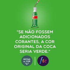 Coca verde? #gotasdecor