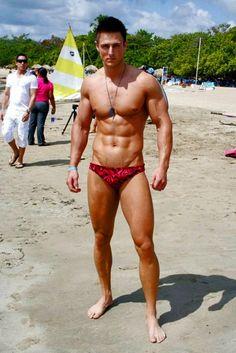 Hot men on the nude beach