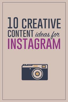 What should you post on #Instagram? Try these 10 creative #content ideas for #Instagram // Small Talk Social