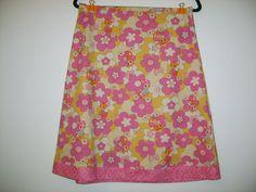 Size 10 Retro Rabbit Skirt by StitchedUpBySmith on Etsy