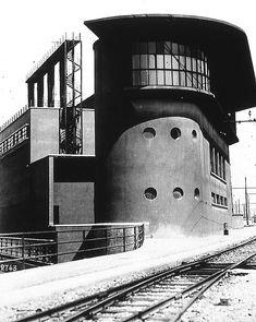 Angiolo Mazzoni Futurist Architecture