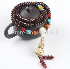 Tibetan Buddhist mala prayer beads