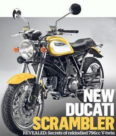Ducati Scrambler: novelty vintage 2014 Ducati motorcycle
