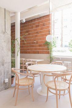 Cafe Interior, Interior And Exterior, Interior Design, Ulsan, Cafe Restaurant, Restaurant Design, Cafe Industrial, Vintage Cafe, Cafe Design