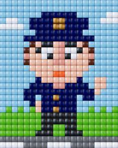 #pixels #pixelen #pixelXL #pixel.gift #pixelhobby #polizei #politie