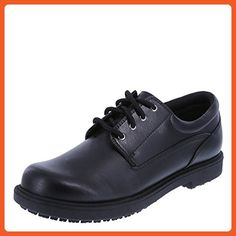 0979d16980c5 safeTstep Slip Resistant Women s Black Women s Deidre Oxford 6.5 Wide - Work  and saftey shoes for
