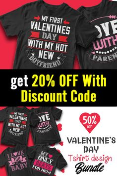 This Valentines Day bundle contains 50 premium designs in vector format that are perfect for t-shirts, hoodies, mugs, and flyers too. With completely editable and pixel perfect vector files you can adapt these t-shirt designs to any size. Here is 20% off discount code: btd20off T Shirt Design Template, Vector Format, Flyers, Design Bundles, Funny Tshirts, Valentines Day, Shirt Designs, Coding, Mugs