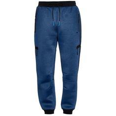 Brandblack Vector drawstring track pants (39.115 HUF) via Polyvore featuring men's fashion, men's clothing, men's activewear, men's activewear pants, navy and track pants