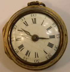 pocket  watch from the late 1600's- early 1700's