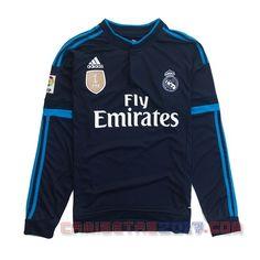 Camiseta manga larga Real Madrid 2015 2016 tercera