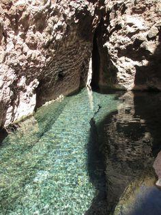 Hiking in Boulder City, NV - Gold Strike Hot Springs