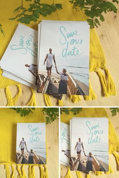 This save the date postcard is so simple yet amazing! LOVE IT! Save The Date Cards, Save The Date Postcards, Save The Date Templates, Thank You Cards, Diy Ideas, Wedding Stationery, Wedding Invitations, Project Ideas, Wedding Inspiration
