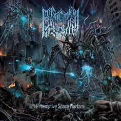 """[CRÍTICAS] MASTICATION OF BRUTALITY UNCONTROLLED (DEU) """"preemtive Space warfare"""" CD 2015 (Rotten Roll Rex)"""