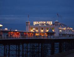Brighton Pier (Photo by Tina Moore)  Brighton, UK