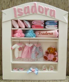 Ateliê do Bebê MG: mini closet