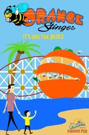 Orange Stinger, Paradise Pier, California Adventure, Disneyland