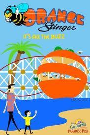 Orange Stinger, Paradise Pier, California Adventure, Disneyland