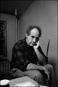 Robert Frank as photographed by Allen Ginsberg