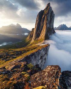Segla Mountain, Senja, Norway by beboy_photography via earthofficial