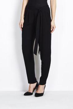 Black Relaxed Trouser
