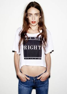 Its Not Right crop top. via The Cools Slogan Tee, Printed Tees, Graphic Tees, Womens Fashion, Fashion Trends, Unisex, T Shirts For Women, Crop Tops, How To Wear